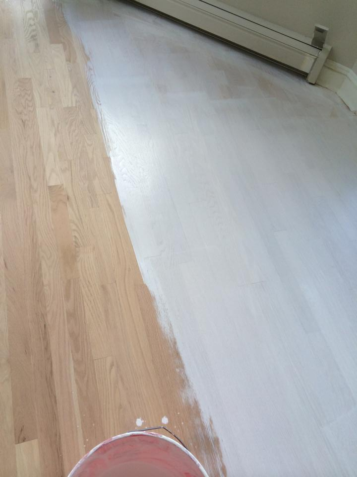 Noordic white wash Rubio Monocoat wood flooring in Union County New Jersey