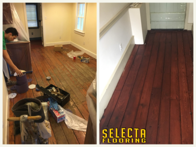 Sanding and Refinishing Wood Floors in Union County