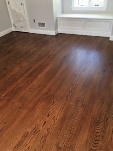 brown wood floors wide plank  in Union County new Jersey