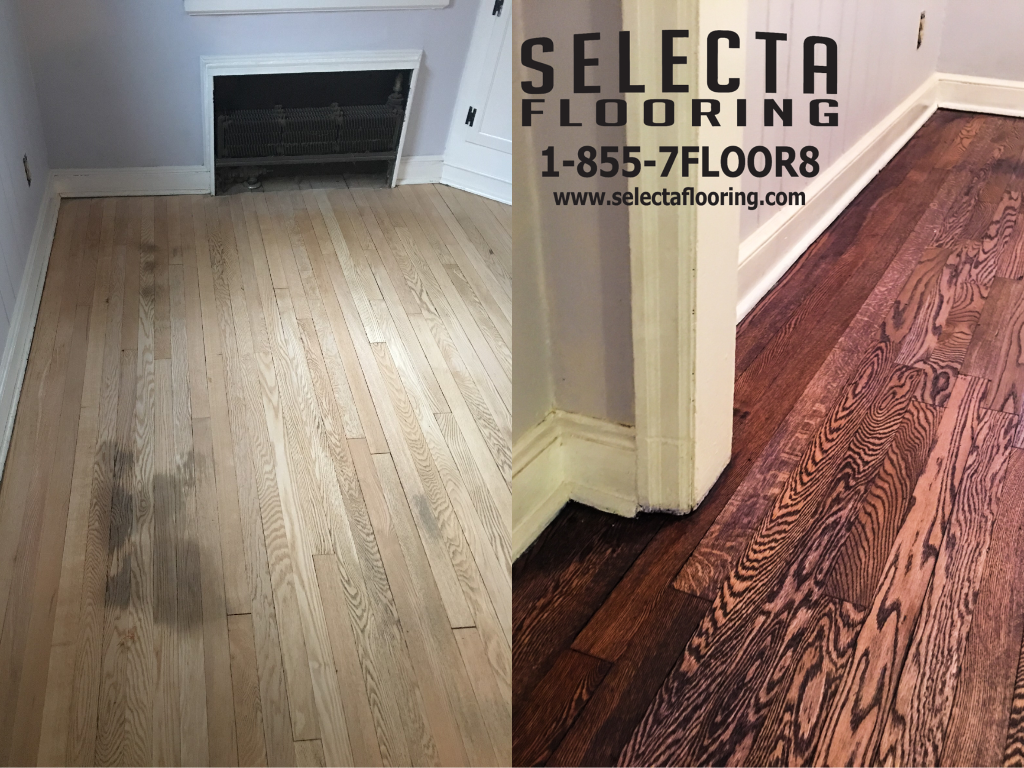 Union County Rubio Monocoat Wood Floor new jersey purple stain