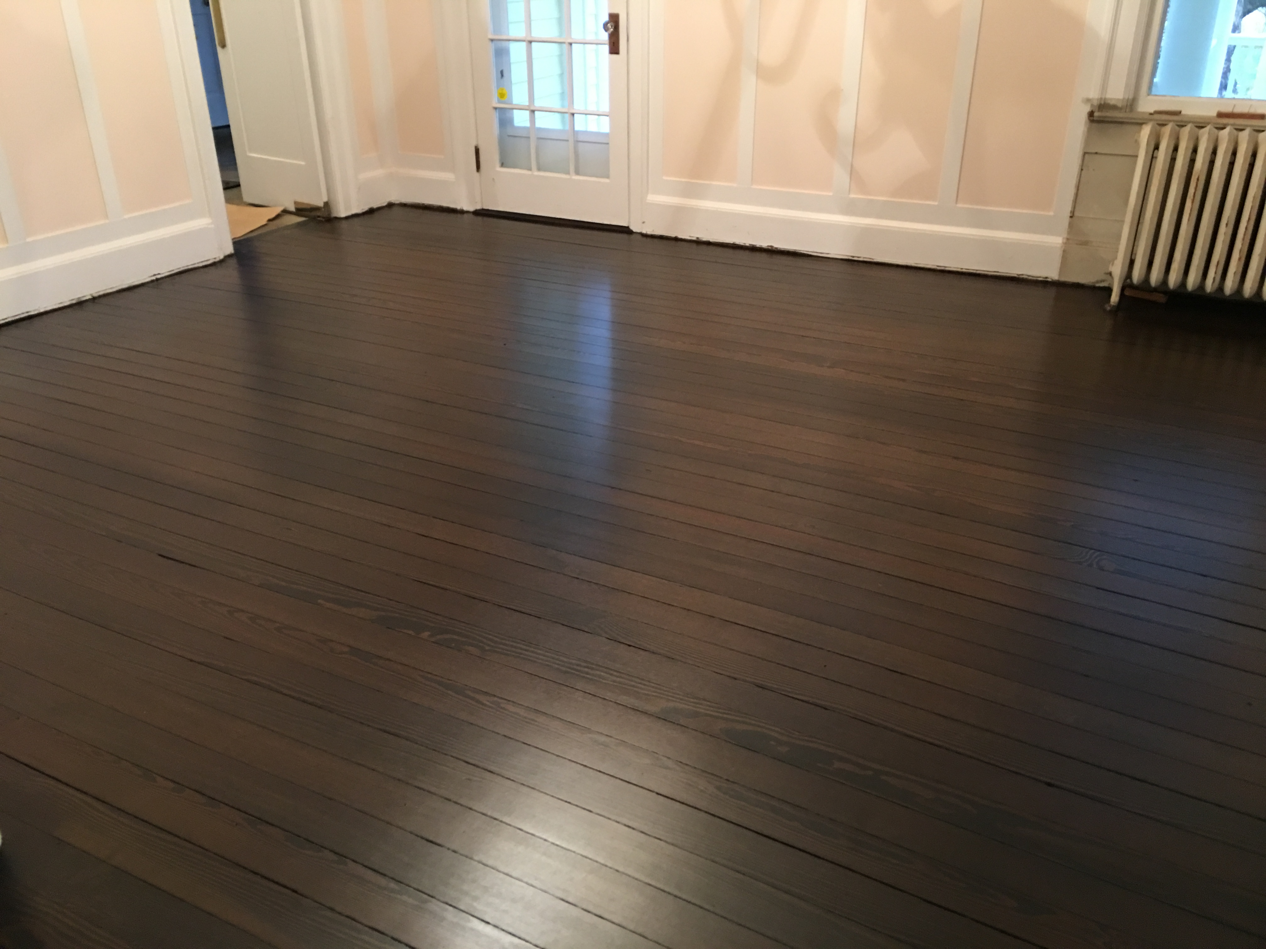 wood floor color trends 2016. By suggesting a customized stain color for the floors  Selecta Flooring of Union County 1820 Historic Wood Floors in Mendham New Jersey